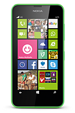 EE 4G Pay as you go £1  Talk & Text pack Green Nokia Lumia 635