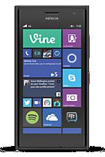 Vodafone 4G Pay As You Go Black Nokia Lumia 735