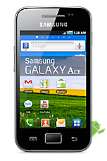 View the cheapest Samsung S5830 Galaxy Ace deals with a free notebook