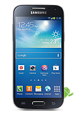EE 4G Pay as you go £1  Talk & Text pack Black Samsung Galaxy S4 Mini