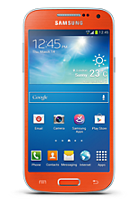 Samsung Galaxy S4 Mini Orange
