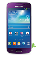 EE 4G Pay as you go £1  Talk & Text pack Purple Samsung Galaxy S4 Mini