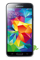 EE 4G Pay as you go £1  Talk & Text pack Black Samsung Galaxy S5