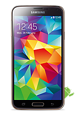 EE 4G Pay as you go £1  Talk & Text pack Gold Samsung Galaxy S5
