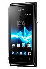 O2 Pay & Go Black Sony Xperia E