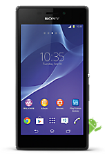 Black Sony Xperia M2 Contract Mobile Phone on EE EE Regular 4G £26.99 24 Month Contracts with Unlimited mins and Unlimited Texts  FREE Toshiba 32 LED TV