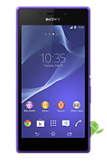 Purple Sony Xperia M2 Contract Mobile Phone on EE EE Regular 4G £26.99 24 Month Contracts with Unlimited mins and Unlimited Texts  FREE Toshiba 32 LED TV