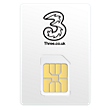 Three Post Pay Data Micro Sim Card