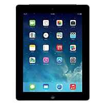 Black Apple iPad 2 with WiFi  3G 16GB Sim Free Handset