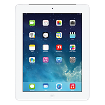 White Apple iPad with Retina display WiFi & Cellular 16GB Contract Mobile Phone on 3 Three 15GB 24m &pound29 Month Contract with  mins and  Texts